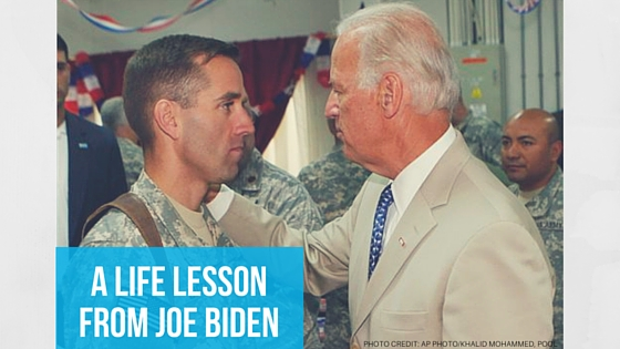 Life Lesson from Joe Biden