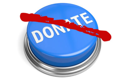 Stop Donating To Non-Profits