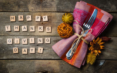 Thanksgiving 2017 Message